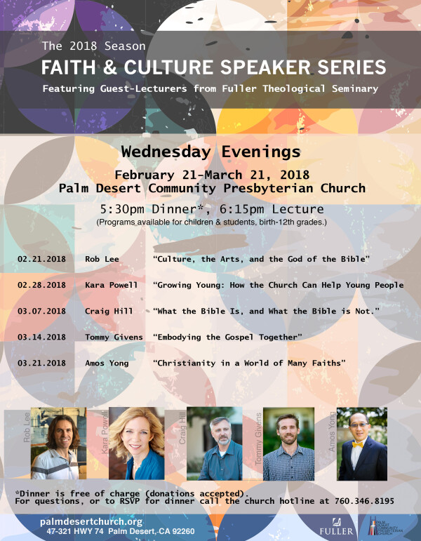 Faith & Culture Series