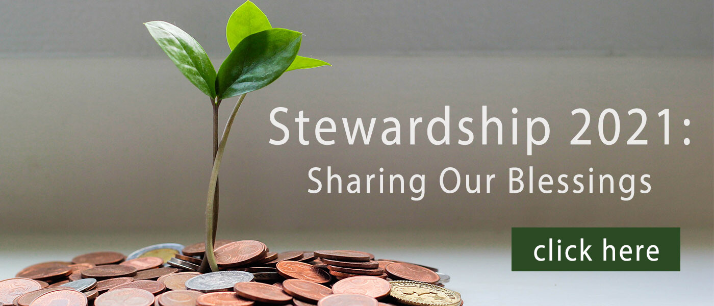 Stewardship 2021: Sharing Our Blessings